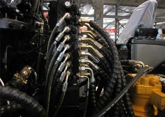 挖掘机液压系统_宝鼎履带90挖掘机 进口液压系统挖掘机 小型挖掘机 挖掘机厂家直销