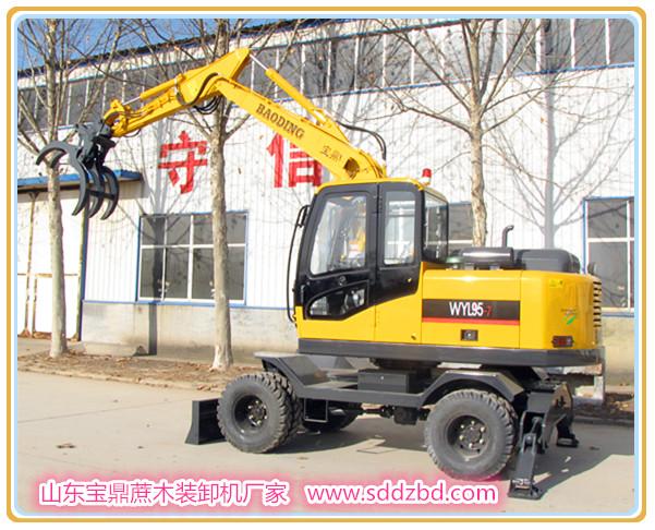 蔗木装卸机――广西、广东甘蔗木材装卸设备使用新常态