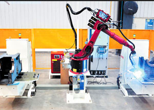 机械臂焊接设备-宝鼎挖掘机厂家设备