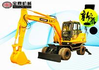 宝鼎新款BD95W-9轮式挖掘机