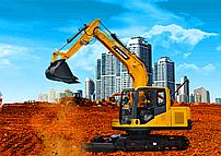 宝鼎挖掘机厂家BD90新款小型挖掘机型号细节展示图