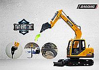 宝鼎履带式80小型挖掘机产品