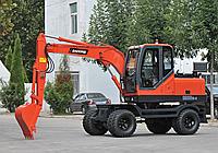 宝鼎BD80W新一代轮式挖掘机