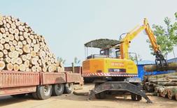 宝鼎抓木机厂家热销全国抓木机市场