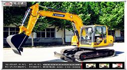 「高效节能」「品质优越」宝鼎BD80-8小型多功能挖掘机