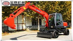 2017年春节将近宝鼎挖掘机抓木机厂家全力生产保障客户年前到车