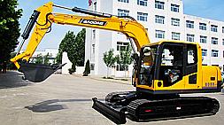 宝鼎新款80履带式挖掘机值得关注的国产挖掘机械产品
