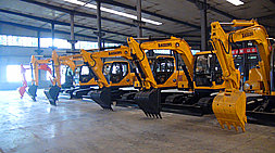 挖掘机械行业持续回暖,宝鼎挖掘机抓木机厂家重塑宝鼎产品高性价比品质