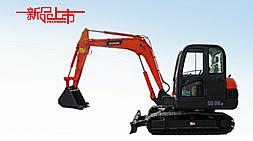 狭小空间神器、城市建设好帮手宝鼎BD65-6小型挖掘机