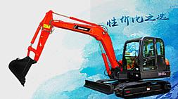 升级款宝鼎60小型履带式挖掘机整机性能参数介绍