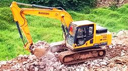 广西近期的基础建设将推动宝鼎挖掘机抓木机厂家销售量增长