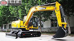 低油耗高性能宝鼎80型号小型挖掘机夏季工作更有保证