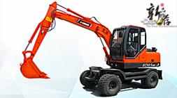 宝鼎BD85w-9轮式挖掘机-宝鼎轮挖产品高性能延续之作