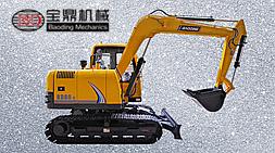 近期宝鼎BD80-8履带式小型挖掘机改款型号定型量产上市