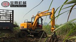 宝鼎多功能轮式抓木机在广西地区销售热度持续上升广西甘蔗抓机销售咨询