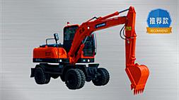 宝鼎BD80W-8轮式挖掘机省钱低耗多用途 工作更可靠