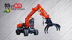 山东宝鼎抓木机厂家BD80W-8型号抓木机产品介绍