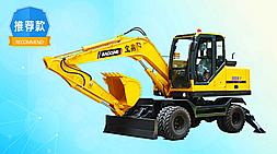 宝鼎挖掘机-BD95W型号轮式挖掘机-灵活方便综合能力优势明显