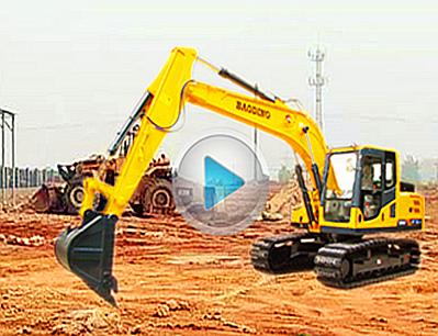 宝鼎150挖掘机视频-宝鼎挖掘机厂家