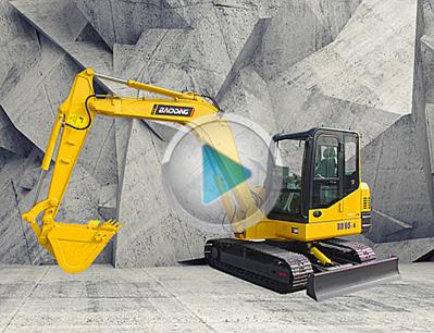 宝鼎新一代65型号履带小型挖掘机产品展示-宝鼎挖掘机生产厂家
