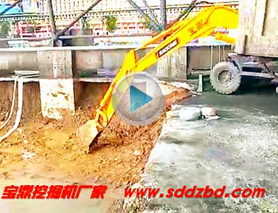 轮式挖掘机 宝鼎轮式挖掘机95型号工作介绍-宝鼎挖掘机