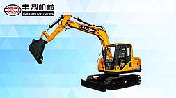 (产品评测)宝鼎挖掘机BD90型号:多功能作业兼顾性强工程多面手