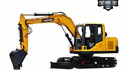 国产小型挖掘机哪个牌子的好?宝鼎挖掘机厂家