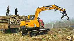 宝鼎多功能小型挖掘机闪耀各地挖掘机市场产品竞争力逐渐体现