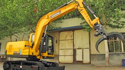 宝鼎90小型挖掘机一机多用全工况展示