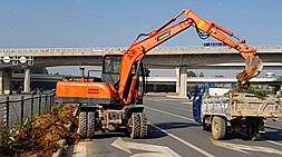 国产轮式挖掘机市场鱼龙混杂,购车客户需谨慎