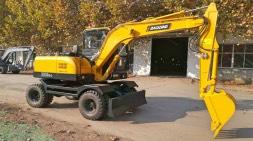 小型轮式挖掘机多少钱一台