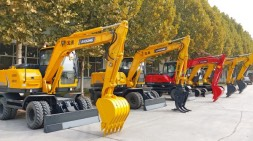 轮式挖掘机价格与配置区分