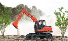 宝鼎轮式挖掘机厂家价格以及全国办事处分布