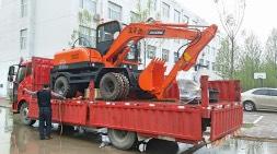 客户强烈要求轮式挖掘机就买这样的!