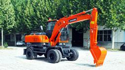 小型轮式挖掘机市场热销车型推荐