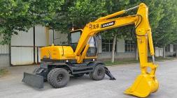 新疆轮式挖掘机市场需求实现多用途发展