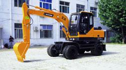 这样的轮式挖掘机你敢买吗?