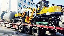 浅谈当下国内小型轮式挖掘机市场和宝鼎BD80W型号轮式挖掘机现款有什么改进?