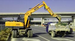 宝鼎轮式挖掘机厂家专业打造优质轮挖三十年