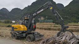 排单生产宝鼎轮式抓木机供不应求