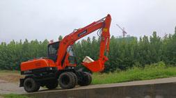 轮式挖掘机恶劣工况下的应对措施