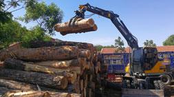 国内抓木机市场高效轮式抓木机车型推荐