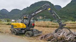 广西抓甘蔗机抓木机进入筹备阶段
