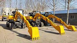 转场方便和多用途-宝鼎BD80W轮式挖掘机