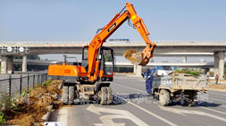 路面养护轮式挖掘机车型推荐