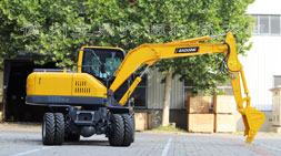 宝鼎轮式挖掘机抓木机高端品牌专家