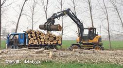轮式抓木机这几点操作将导致油耗飙升