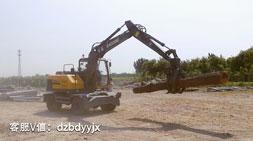 宝鼎95抓木机BD95W-9A轮式抓木机价格