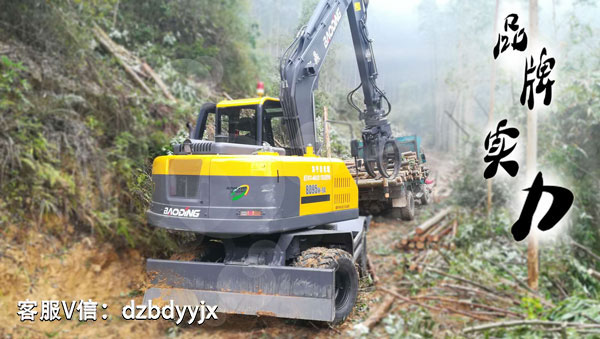 国产抓木机价格进口品牌质量宝鼎95抓木机