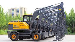升级版宝鼎轮式挖掘机抓木机-BD95W-9A型号